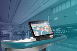 emaratech's Airport Smart Trolley introduced at Dubai Airshow 2017