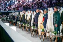 Руководители ОАЭ посетили празднование Национального дня Объединенных Арабских Эмиратов (Видео)