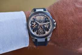 Ulysse Nardin представляют новую модель часов Blast Skeleton Tourbillon
