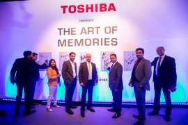 Innovation begins with Toshiba and its Art of Memories