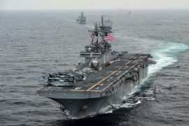 US shot down Iranian drone close to American ship in Strait of Hormuz