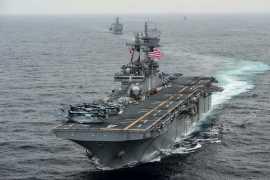 США сбили иранский дрон над Ормузским проливом