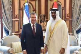 Руководители ОАЭ поздравили Президента Узбекистана с Днем независимости