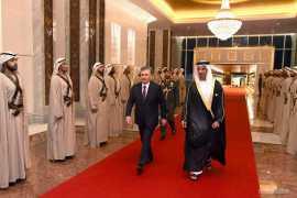 Президент Узбекистана прибыл в Абу-Даби