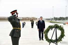 """Шавкат Мирзиёев посетил мемориал """"Вахат аль-Карама"""""""