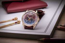 "Vacheron Constantin presents  Les Cabinotiers Cloisonné Enamel ""The Caravel"" 1950"