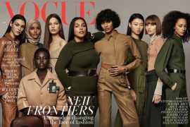 Обложку британского Vogue впервые в истории украсила модель в хиджабе