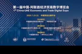 首届中国-阿联酋经济贸易数字博览会将于2020年7月开启线上模式