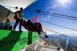 拉斯海马:挑战全球最长的高空滑索